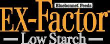Логотип Bluebonnet Feeds Ex-Factor