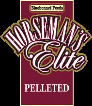 Логотип Bluebonnet Feeds Horseman's Elite Pelleted