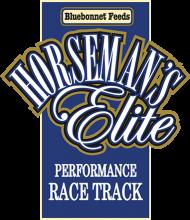 Логотип Bluebonnet Feeds Horseman's Elite Performance Race Track