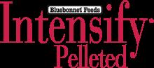 Логотип Bluebonnet Feeds Intensify Pelleted