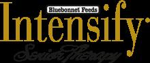 Логотип Bluebonnet Feeds Intensify Senior Therapy