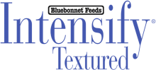 Логотип Bluebonnet Feeds Intensify Textured