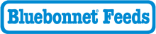 Логотип Bluebonnet Feeds