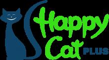Логотип Хэппи Кэт Плюс