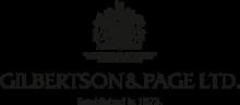 Логотип Gilbertson & Page