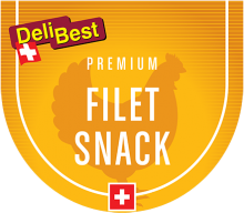 Логотип Deli Best Filet Snack Chicken
