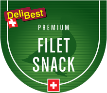 Логотип Deli Best Filet Snack Duck