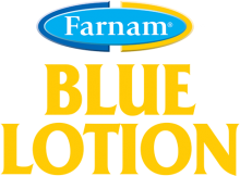 Логотип Farnam Blue Lotion