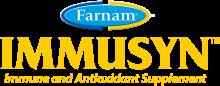 Логотип Farnam Immusyn