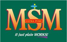 Логотип Farnam MSM Ultra Pure