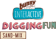 Логотип Bunny Nature Interactive Digging Fun