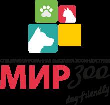 Логотип Мир Зоо