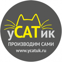 Логотип Усатик