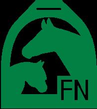 Логотип Deutschen Reiterlichen Vereinigung