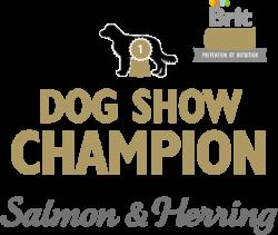 Логотип Brit Care Prevention By Nutrition Dog Show Champion Salmon & Herring