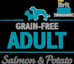 Логотип Brit Care Prevention By Nutrition Grain-Free Adult Salmon & Potato