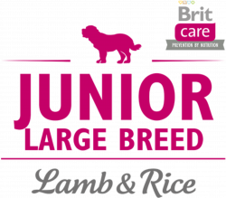 Логотип Brit Care Prevention By Nutrition Junior Large Breed Lamb & Rice