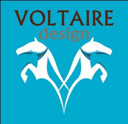 Логотип Voltaire Design