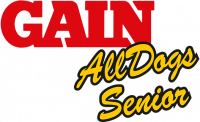 Логотип Gain All Dogs Senior