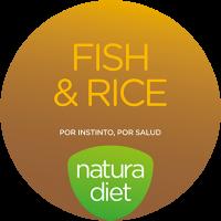 Логотип Natura Diet Fish & Rice