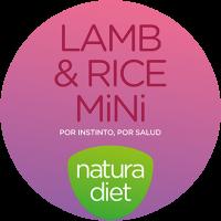 Логотип Natura Diet Lamb & Rice Mini