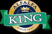 Логотип Alfalfa King